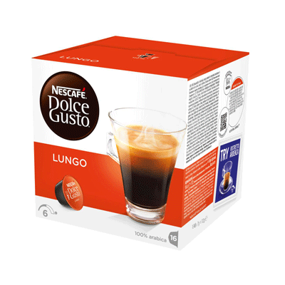 Капсулы Dolce Gusto Lungo 16шт./уп.